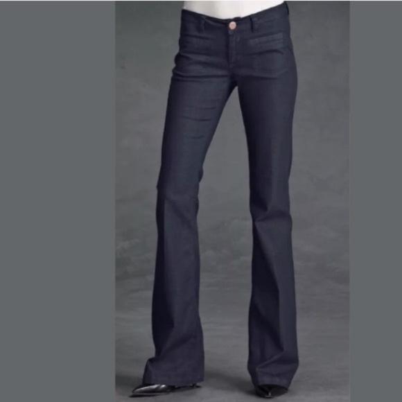 CAbi Denim - Cabi Farrah Trouser Flare Dark Jeans 146R Size 6